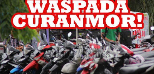 Duh! Maling Motor Buat Lebaran, Pemuda di Pandeglang dicokok Polisi