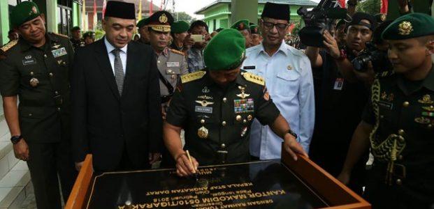 Gubernur Banten Hadiri Peresmian Kodim 0510 Tigarkasa Tangerang Oleh KASAD