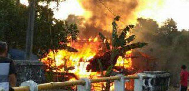 Kasihan, Dua Rumah di Pandeglang Terbakar Jelang Buka Puasa, Satu Diantaranya Milik Janda