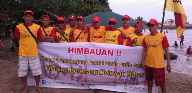Libur Tahun Baru, 150 Relawan Balawista Banten Siaga di 9 Posko Pantai