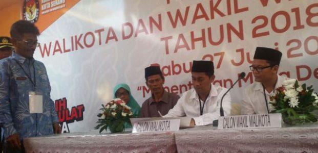 Daftar ke KPU, Samsul-Rohman Tak Mau Didikte Partai Politik