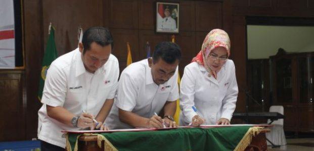 Pertama di Indonesia Teken Kerja Sama Tiga Provinsi, PMI Banten Diapresiasi