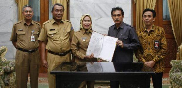 Perkuat Data, Bupati Serang MOU Dengan BPS Banten