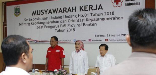 Muker 2018, PMI Banten Berkomitmen Berikan Layanan Terbaik