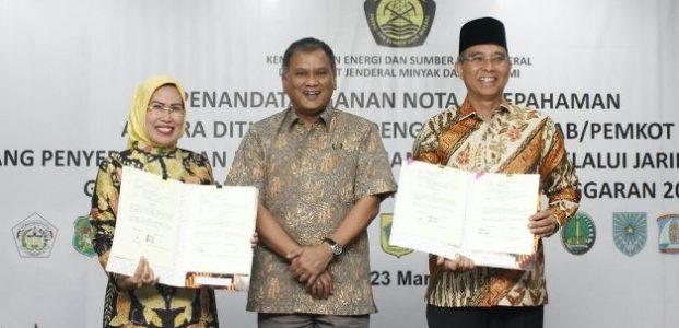 Berkat Silaturahmi Bupati ke Pusat,Tahun Ini Rumah Warga Kabupaten Serang Bakal Disaluri Gas PGN