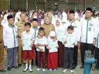 Ribuan Siswa SD Kabupaten Serang Peroleh Beasiswa dari Baznas