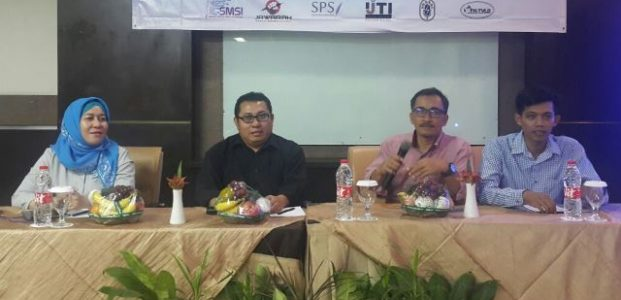 Wartawan Banten Gelar Diskusi Bahas Pers dan Hoax
