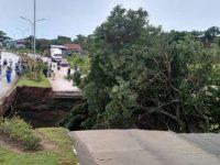 Jalan Lingkar Selatan Kota Cilegon Ambrol
