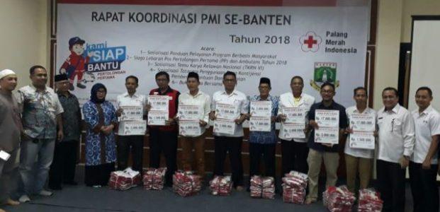 PMI Banten Siagakan 224 Relawan, 24 Jam di Jalur Mudik Lebaran