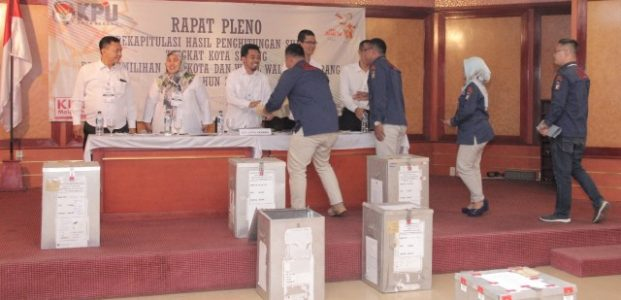 "Penghitungan Final KPU, Syafrudin-Subadri ""Aje Kendor"" Menang di Pilkada Kota Serang"