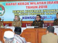 Dekopinwil Banten Gagas Koperasi Sistem Online