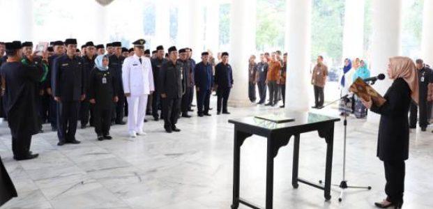 64 Pejabat Dilantik, Bupati Serang Tuntut Tingkatkan Kinerja
