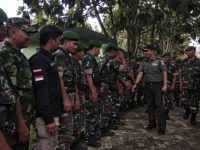 Silaturahmi ke Kodim 0601 Pandeglang, Danrem 064/MY: Banten Hebat dan Keren