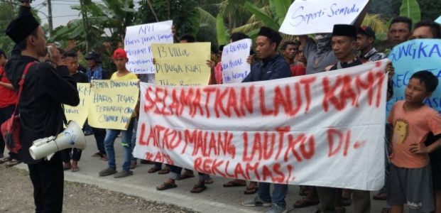 Warga Desak Pemda Hentikan Pembangunan Villa Stephani – Resort di Carita