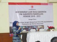 Gelar Muslub, PMI Pandeglang Minta Segera Dibangunkan UDD