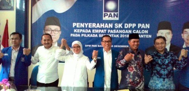 DPP PAN Resmi Usung Syafrudin-Subadri dan Iti-Ade Untuk Pilkada Serentak 2018