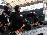 Gelar Pentas Seni Budaya, KPU Kabupaten Serang Sosialisasikan Pemilu 2019
