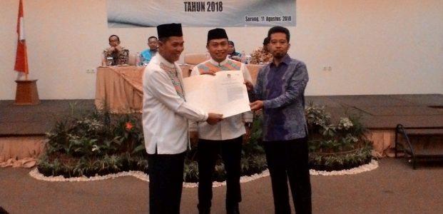 KPU: Pilkada Kota Serang 2018 Selesai. Syafrudin Walikota, Subadri Wakil Walikota
