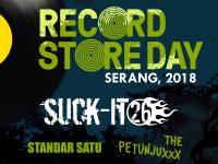 Perdana, Kota Serang Rayakan Record Store Day