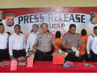 Kerap Mencuri Dengan Kekeraaan, 12 Bandit Mendekam di Polres Pandeglang