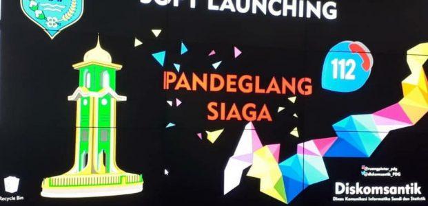 Diskomsantik Pandeglang Launching Nomor Siaga 112