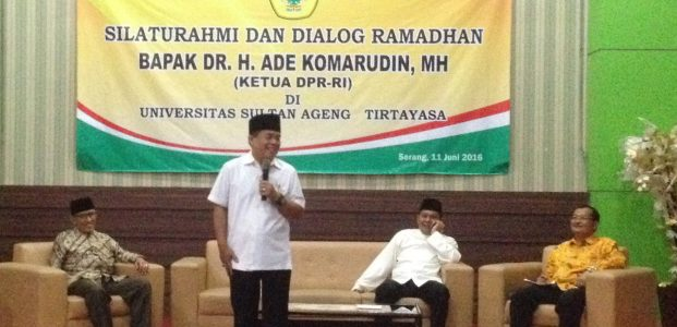 Akom, Dari Susah Sekolah Hingga Jadi Ketua DPR RI